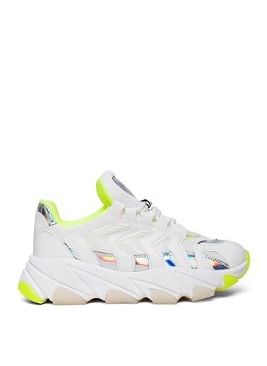 Sole Sisters Spor Ayakkabı Beyaz/Yeşil - Almına2 Beyaz
